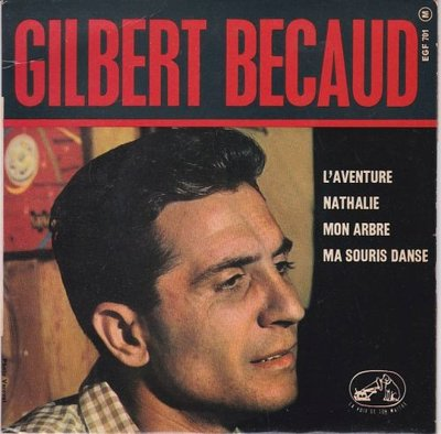 Gilbert Becaud - L'Aventure (EP) (Vinylsingle)