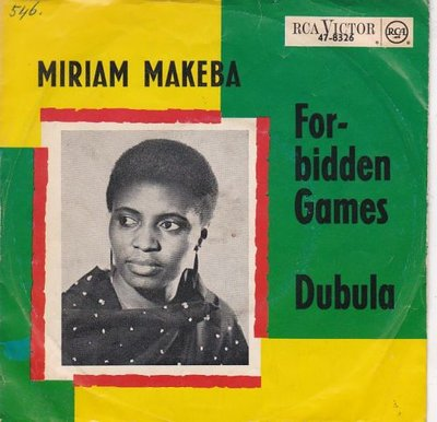 Miriam Makeba - Forbidden Games + Dubula (Vinylsingle)