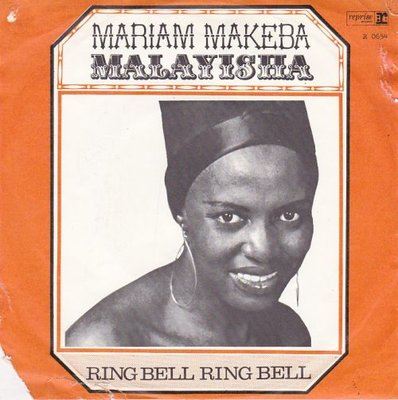 Miriam Makeba - Malayisha + Ring bell ring bell (Vinylsingle)