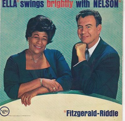 Ella Fitzgerald & Nelson Riddle - Ella Swings Brightly With Nelson (Vinylsingle)