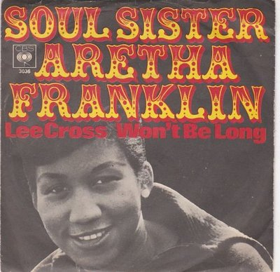 Aretha Franklin - Lee cross + Until you were gone (Vinylsingle)