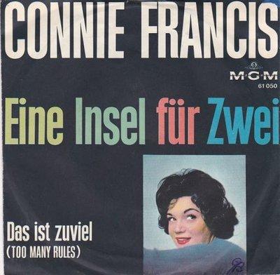 Conny Francis - Eine insell fur zwei + Das ist zuviel (Vinylsingle)