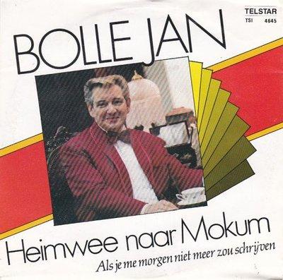 Bolle Jan - Heimwee naar Mokum + Als je me morgen niet meer (Vinylsingle)