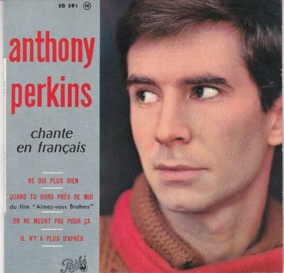 Anthony Perkins - Anthony Perkins Chante En Francais (Vinylsingle)