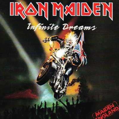 Iron Maiden - Infinite dreams + Killers (live) (Vinylsingle)