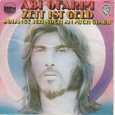 Abi Ofarim - Zeit Ist Geld + Solange Ich Noch An Mich Glaub' (Vinylsingle)