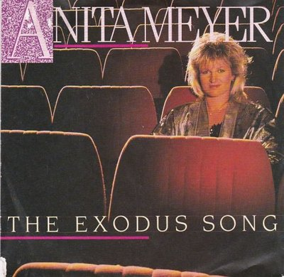 Anita Meyer - The exodus song + Mysterious (Vinylsingle)
