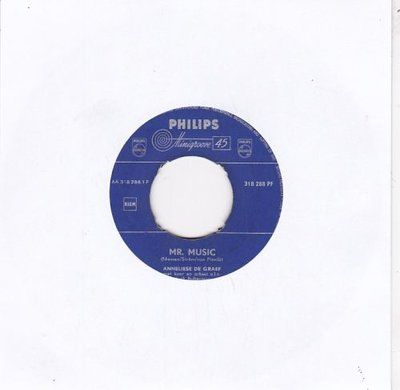 Annelies de Graaf - Mr. Music + Sing ! Sing ! Sing ! (Vinylsingle)