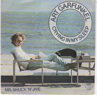 Art Garfunkel - Crying in my sleep + Mr. Shuck 'n' jive (Vinylsingle)