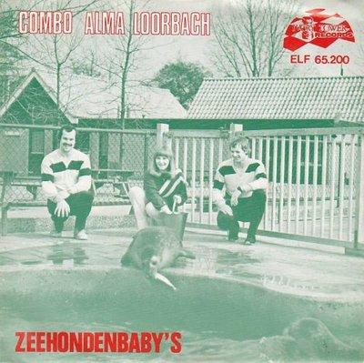 Combo Alma Loorbach - Zeehondenbaby's in 't Groningerland + Laat en heel romantisch (Vinylsingle)