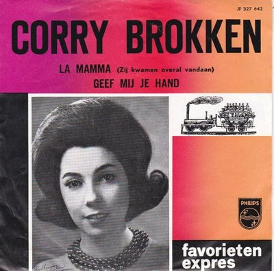 Corry Brokken - La Mamma + Geef mij je hand (Vinylsingle)