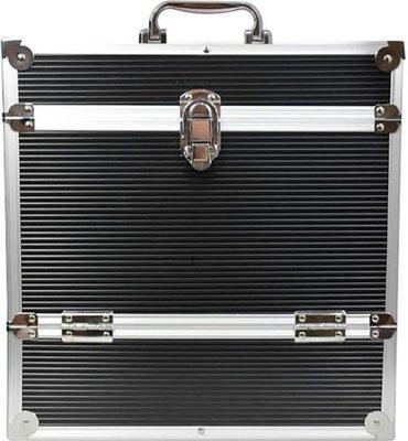 LP Flightcase Zwart voor 40 platen - per stuk