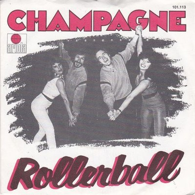 Champagne - Rollerball + No love at all (Vinylsingle)