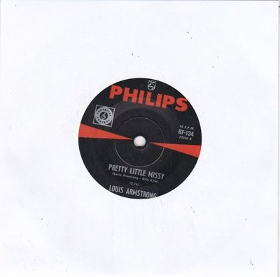 Louis Armstrong - Pretty little Missy + So long Dearie (Vinylsingle)