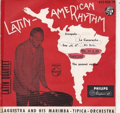 latin Quartet - Latin-American Rhythm (EP) (Vinylsingle)