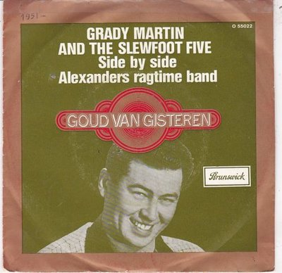 Grady Martin - Alexander's ragtime band + Side by side (Vinylsingle)