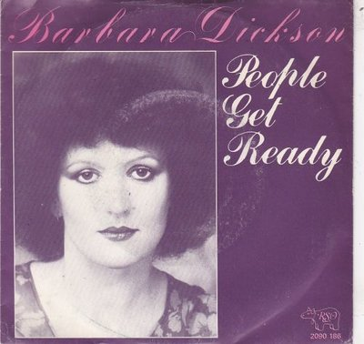 Barbara Dickson - People Get Ready + Give Me Space (Vinylsingle)