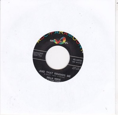 Della Reese - And That Reminds Me + I Only Want A Buddy Not A Sweetheart (Vinylsingle)