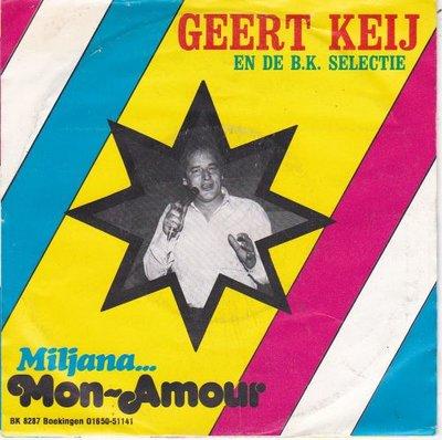 Geert Keij - Mon Amour + Miljana (Vinylsingle)