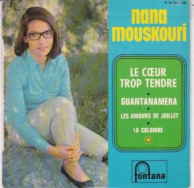 Nana Mouskouri - Le Coeur Trop Tendre (EP) (Vinylsingle)