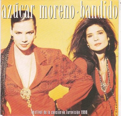 Azucar Moreno - Bandido + (Instrumental) (Vinylsingle)