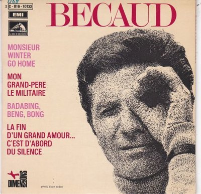 Gilbert Becaud - Monsieur Winter go home (EP) (Vinylsingle)