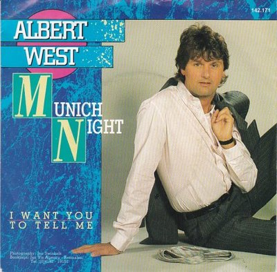 Albert West   - Munich night + I want you to tell me (Vinylsingle)