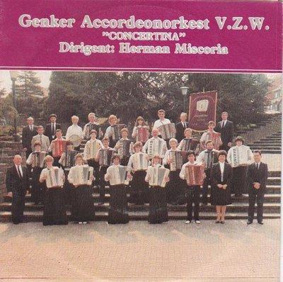 Genker Accordeonorkest V.Z.W. - Trompete + Kalinka +2 (Vinylsingle)