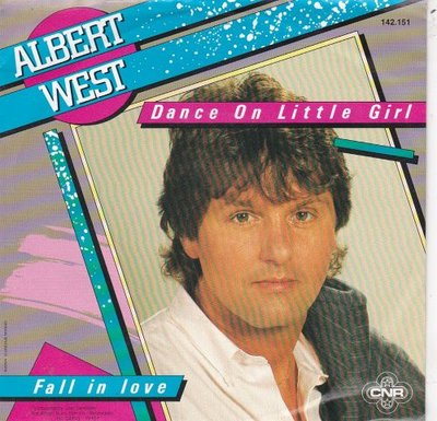 Albert West   - Dance on little girl + Fall in love (Vinylsingle)