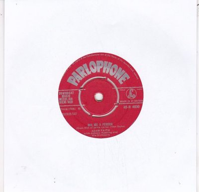 Adam Faith - Mix Me A Person + Don't That Beat All (Vinylsingle)