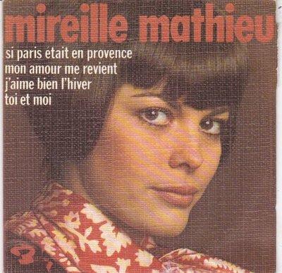 Mireille Mathieu - Si Paris Etait En Provence (EP) (Vinylsingle)