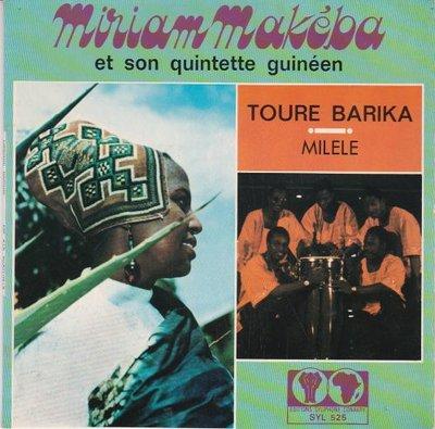 Miriam Makeba - Toure Barika + Milele (Vinylsingle)