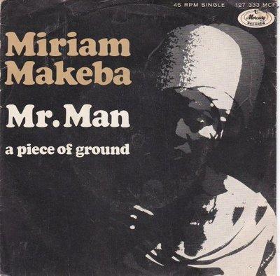 Miriam Makeba - Mr. Man + A piece of ground (Vinylsingle)