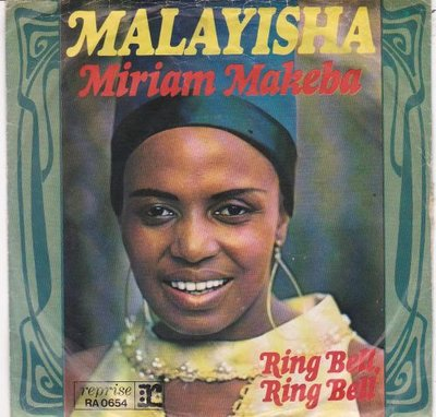 Miriam Makeba - Malayisha + Ring bell ring bell (Vinylsingle)