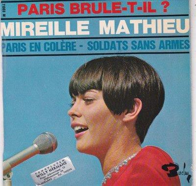 Mireille Mathieu - Paris Brule-T-Il (EP) (Vinylsingle)