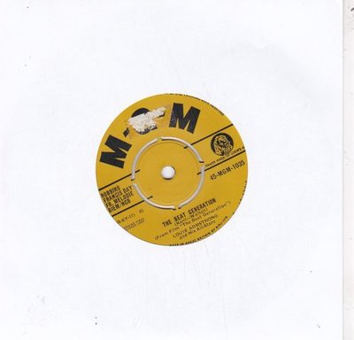 Louis Armstrong - The Beat Generation + Someday You'll Be Sorry (Vinylsingle)