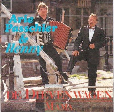 Arie Passchier - De Dievenwagen + Mama (Vinylsingle)
