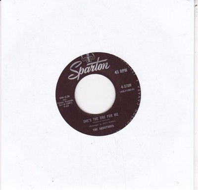 Aquatones - She's The One For Me + You (Vinylsingle)
