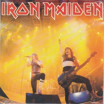 Iron Maiden - Running free + Santuary (Vinylsingle)