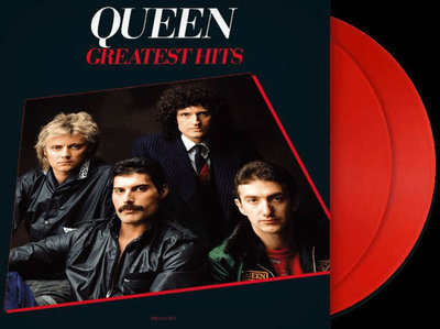 QUEEN - GREATEST HITS -LIMITED EDITION RED VINYL- (Vinyl LP)