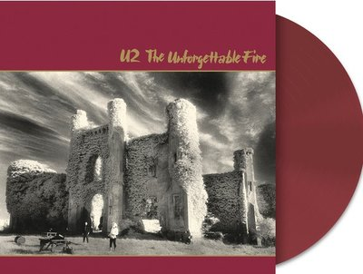 U2 - THE UNFORGETABLE FIRE -COLOURED VINYL- (Vinyl LP)