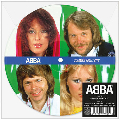 Abba - Summer Night City + Medley (Vinylsingle)