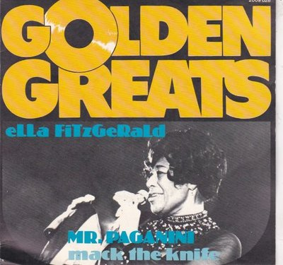 Ella Fitzgerald - Mr. Paganini + Mack the knife (Vinylsingle)