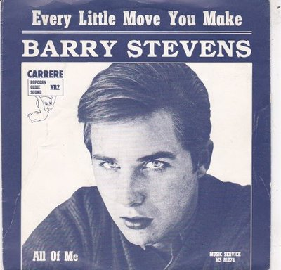 Barry Stevens - Every Little Move You Make + All Of Me (Vinylsingle)