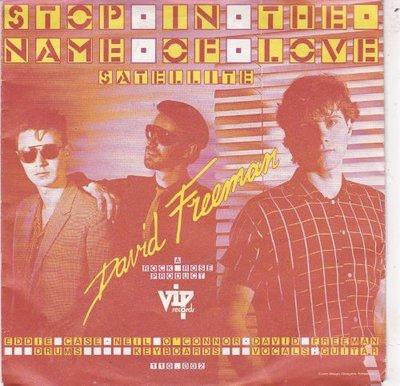 David Freeman - Stop In The Name Of Love + Satellite (Vinylsingle)
