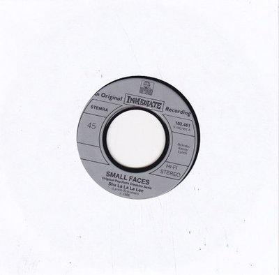 Small Faces - Sha la la la lee + What'cha gonna do about it (Vinylsingle)