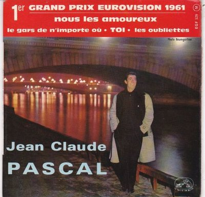 Jean Claude Pascal - Nous Les Amoureux (EP) (Vinylsingle)