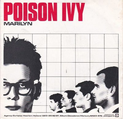 "Poison Ivy - Marilyn	 + Scraps From The Album ""Decadence"" (Vinylsingle)"