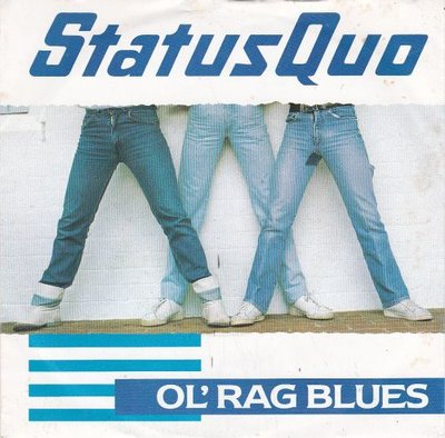 Status Quo - Ol'rag blues + Stay the night (Vinylsingle)