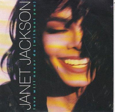 """Janet Jackson - Love will never do + (The love 7"""") (Vinylsingle)"""